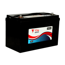 12V 84Ah LiFePO4 TN-Power Lithium Battery - clever BMS can run in series and parallel for larger banks.