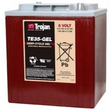 Trojan TE35GEL-AP, Gel, 6 volt 210ah Battery