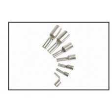 10mm² flat pin lug, heavy duty tinned copper terminal