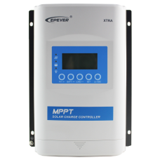 10A 12v/24v MPPT charge Controller - EPever XTRA 1206N - 60VOC PV - LCD Meter