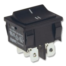 A B Switch for 2 battery banks - used to control relays and switch MPPT between batteries