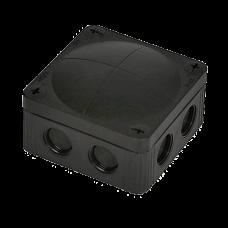 Electrical Junction Box 85X85X51 IP66 External use, Black