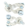 Battery Terminal Clamps M10 Bolts - Pair