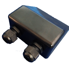 Cable Gland Entry box with 2 glands - Male Compression Glands