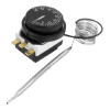Capillary Thermostat Temperature Control Switch, 0-40C 16A (AC or DC)