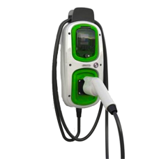 Electric Vehicle Charger 3.6kW Rolec Wallpod EV Homecharge with Type 2 Lead - 16A
