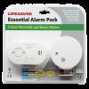 Carbon Monoxide & Smoke Alarm Kit