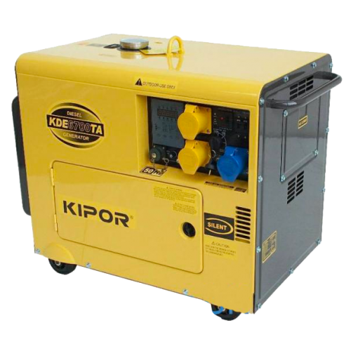 Pleasant 5Kva Diesel Generator Kde 6700Ta Kipor With Auto Start Backup For Wiring Digital Resources Xeirawoestevosnl
