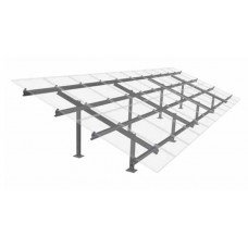 Schletter PV Max-S Ground Mounting system for 22 solar panels