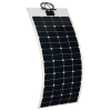 24v 300W complete solar kit with flexible solar panels, MPPT controller, cables and connector