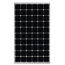 370W LG Solar Panel - Mono NeoN R Black frame - New A grade - 60 cell - Similar size to 250W - PALLET DELIVERY ONLY, HIGHER COST FOR SMALL ORDERS