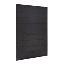 250W Smaller Size Perlite All Black Mono Percium Solar Panel - 54 cell smaller 1.48m size - great for vans and motorhomes