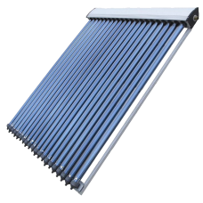 18 Tube Solar Thermal Evacuated Tube Collector Panel 1900mm tall 1500mm wide