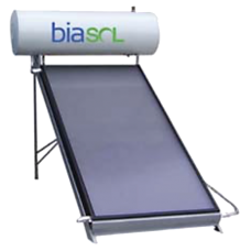 Flat Plate Solar Thermal Collector with 100L Integrated water tank