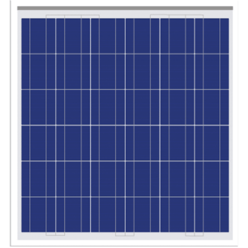 12v 50w Solar Panel Kit With Charge Controller Mounting